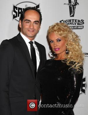 Navid Negahban and Coco Austin