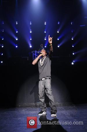 Meek Mill performs during Maybach Music Group (MMG) Tour at The Fillmore Miami Beach at The Jackie Gleason Theater...