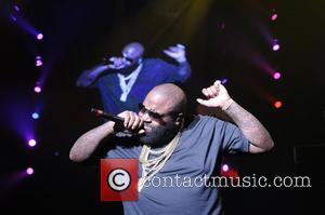 Rick Ross performs during Maybach Music Group (MMG) Tour at The Fillmore Miami Beach at The Jackie Gleason Theater...