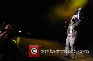 Wale performs during Maybach Music Group (MMG) Tour at The Fillmore Miami Beach at The Jackie Gleason Theater  Miami...