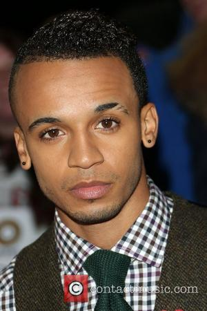 Aston Merrygold of JLS The MOBO awards 2012 held at the Echo Arena - Arrivals Liverpool, England - 03.11.12