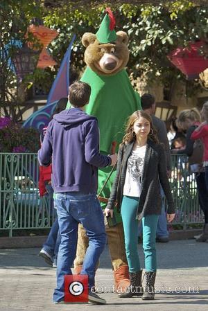 Sarah Hyland and Disneyland