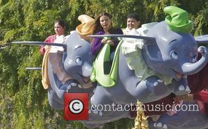 Sofia Vergara, Rico Rodriguez and Disneyland