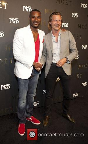 Tyson Beckford and Ludovic du Plessis  Moet Rose Lounge Presents Nas' Life Is Good at Bagatelle  New York...