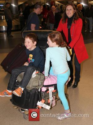 Molly Shannon, Stella Shannon Chestnut and Nolan Shannon Chestnut
