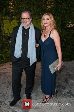 Kim Cattrall Is 'Just Friends' With Artist Clifford Ross