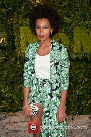 Solange Knowles and Party In The Garden