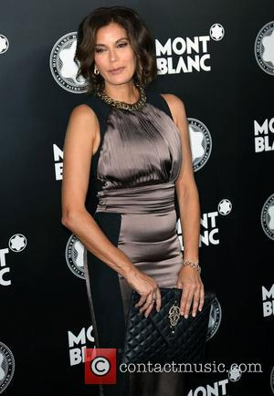 Teri Hatcher 2012 Montblanc De La Culture Arts Gala held at Chateau Marmont - Arrivals Los Angeles, California - 02.10.12