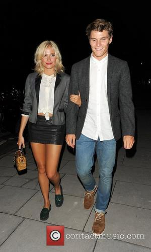 Pixie Lott and Johnnie Walker