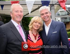 Guest, Sue Liberman and Phillip Schofield at the Motcomb Street Party London, England - 27.06.12