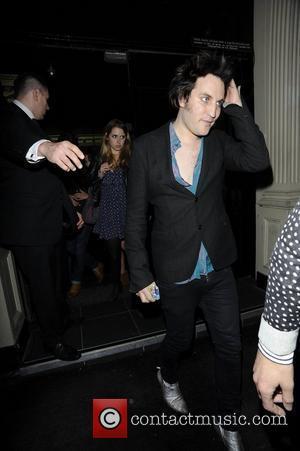 Noel Fielding  Celebrities outside Movida nightclub  London, England - 09.06.12
