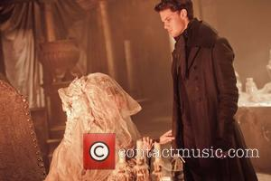Helena Bonham Carter and Jeremy Irvine  Film still from the movie 'Great Expectations' (2012)  This is a PR...