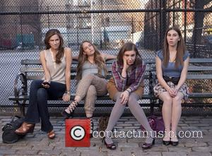 Allison Williams, Jemima Kirke, Lena Dunham, Zosia Mamet   Movie stills from Girls (HBO) Season 1, 2012  This...