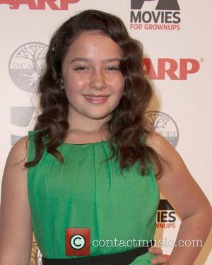 Amara Miller AARP's 11th Annual Movies For Grownups Awards at the Beverly Wilshire Hotel  Los Angeles, California - 06.02.12...
