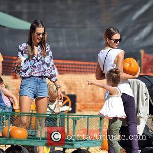 Alessandra Ambrosio and Jessica Alba