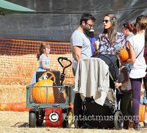 Alessandra Ambrosio, Jamie Mazur and Jessica Alba