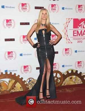 Anne V The MTV EMA's 2012 held at Festhalle - arrivals Frankfurt, Germany - 11.11.12