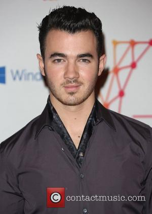 Kevin Jonas of The Jonas Brothers The MTV EMA's 2012 held at Festhalle - Arrivals Frankfurt, Germany - 11.11.12