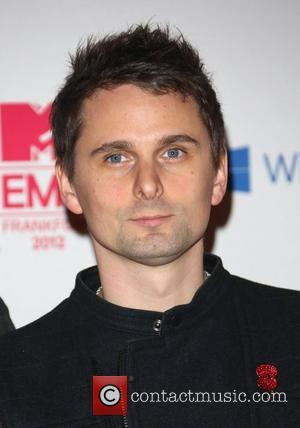 Matthew Bellamy of Muse The MTV EMA's 2012 held at Festhalle - Arrivals Frankfurt, Germany - 11.11.12