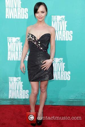 Christina Ricci MTV Movie Awards at Universal Studios - Arrivals Universal City, California - 03.06.12