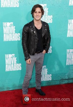 Diego Boneta MTV Movie Awards at Universal Studios - Arrivals Universal City, California - 03.06.12
