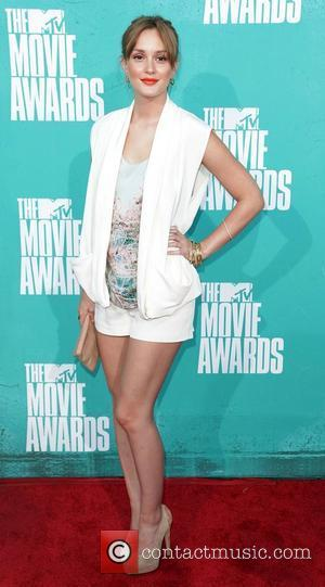 Leighton Meester MTV Movie Awards at Universal Studios - Arrivals Universal City, California - 03.06.12