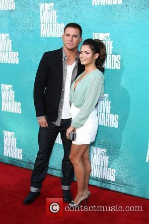 Channing Tatum and his wife, actress Jenna Dewan Tatum MTV Movie Awards at Universal Studios - Arrivals  Universal City,...