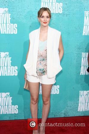 Leighton Meester MTV Movie Awards at Universal Studios - Arrivals  Universal City, California - 06.03.12