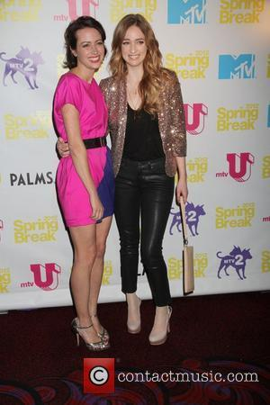 Kristen Connolly and Amy Acker MTV Spring Break 2012 - Screening party for 'The Cabin In The Woods' at the...