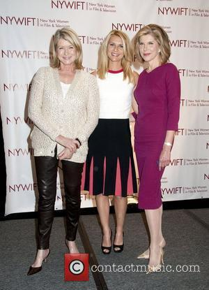 Martha Stewart, Christine Baranski and Claire Danes
