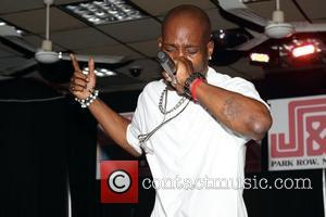 DMX  performs at J&R MusicWorld's MusicFest & Tech Expo 2012 Held at J&R MusicWorld Downtown New York City, USA...
