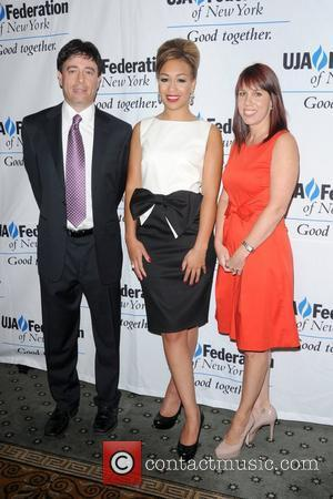 Rick Krim, Rebecca Ferguson and Amy Dole 2012 Music Visionary of the Year Award Luncheon, held at The Pierre Hotel...