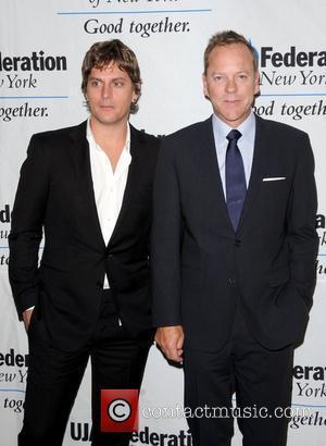 Rob Thomas and Kiefer Sutherland
