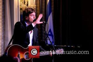 Rob Thomas performs 2012 Music Visionary of the Year Award Luncheon, held at The Pierre Hotel - Inside New York...