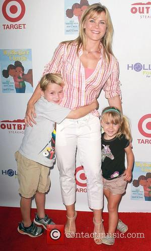 Alison Sweeney & family at the 3rd Annual My Brother Charlie Family Fun Festival held at The Culver Studios. Culver...