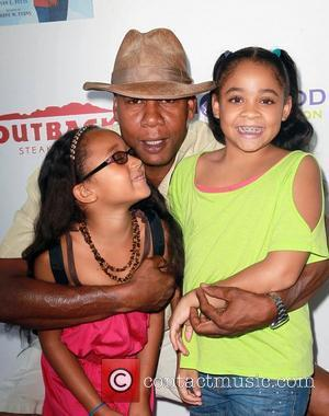 Mark Curry and Daughters at the 3rd Annual My Brother Charlie Family Fun Festival held at The Culver Studios. Culver...