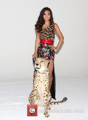 Myleene Klass and Cheetah