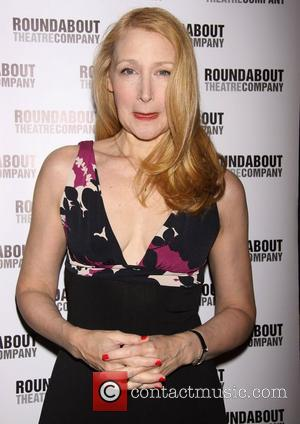 Patricia Clarkson  Broadway opening night of 'The Mystery of Edwin Drood' at Studio 54 - Arrivals New York City,...