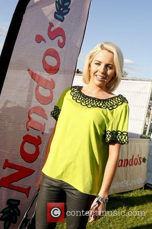 Lydia Bright Shines In Yellow At Towie Wrap Party