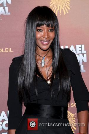 Naomi Campbell and Madison Square Garden