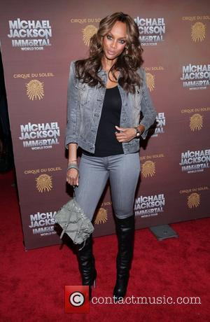 Tyra Banks and Madison Square Garden