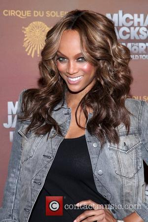 Tyra Banks Cirque Du Soleil's Michael Jackson The Immortal World Tour Opening Night At Madison Square Garden. New York City,...