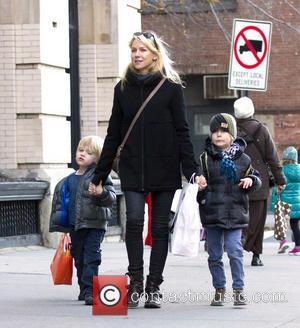 Naomi Watts, Samuel, Sasha and New York City