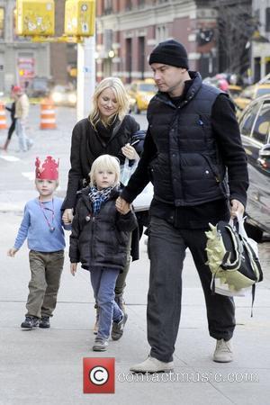 Naomi Watts, Liev Schreiber, Alexander and Samuel