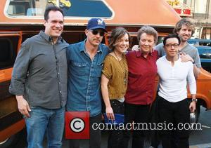 Diedrich Bader, Efren Ramirez, Jon Gries, Jon Heder, Sandy Martin, Tina Majorino and Hollywood And Highland
