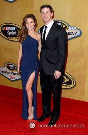 Katie Price and Denny Hamlin