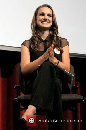 Natalie Portman speaks at Nevada Women's Summit, held at the Fifth Street School auditorium - Inside Las Vegas, Nevada -...