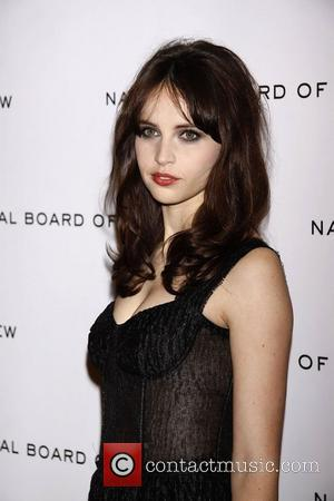 Felicity Jones  The National Board of Review Awards Gala held at Cipriani 42nd Street hall - Inside Arrivals....