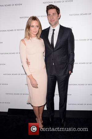 Emily Blunt and John Krasinski