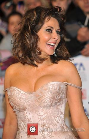Carol Vorderman National Television Awards held at the O2 Arena - Arrivals. London, England - 25.01.12